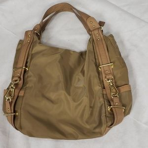 Nwot OLIVIA & JOY camel color shoulder bag